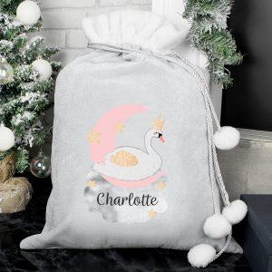 Personalised Girls Christmas Sack