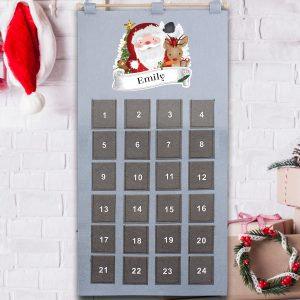 Personalised Re-Usable Advent Calendar
