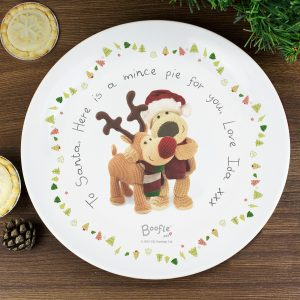 Boofle Personalised Mince Pie Plate